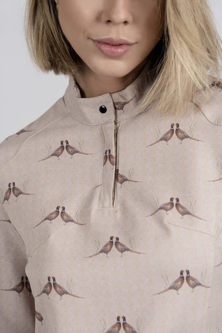 ESTHER Kissing Pheasants top