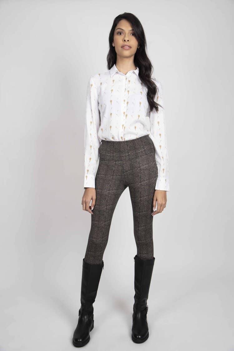 LYDIA Barley luxury viscose shirt