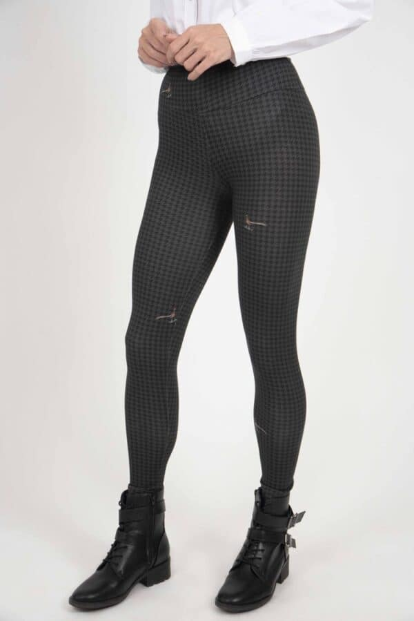 MIA Houndstooth printed leggings